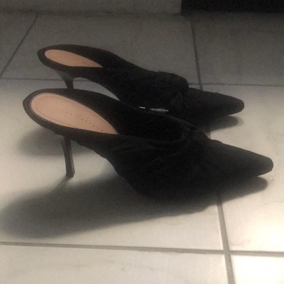 Zara Shoes - High heel mules